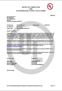 UL Certi(E131290_VOL1)