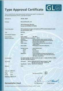 GL선급인증서(독일)